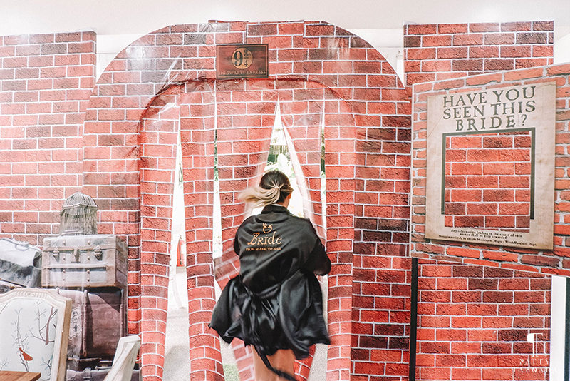We Threw a Harry Potter-Themed Bridal Shower for our Best Friend