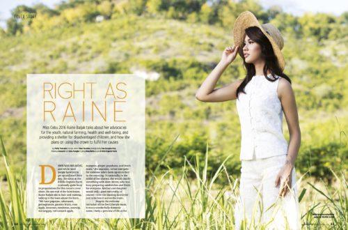 Miss Cebu 2016: Right as Raine