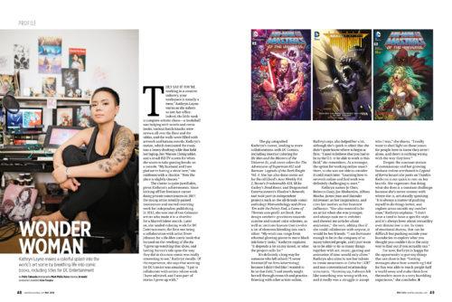 Kathryn Layno: Wonder Woman