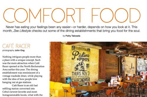 Comfort Food in Cebu